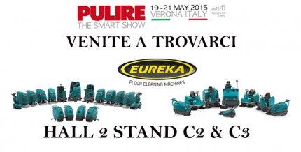 Eureka a Pulire 2015 Verona Fiere