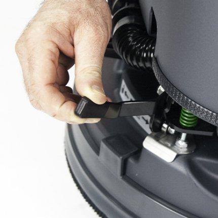 Eureka Brush'O-Matic enganche automático del cepillo.