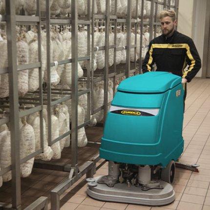 Eureka Chrome   die Scheuersaugmaschinen für die Reinigung im Lebensmittelbereich