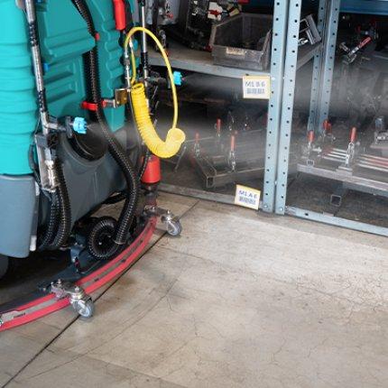 Eureka's sanitizing kit for floor scrubber-dryers