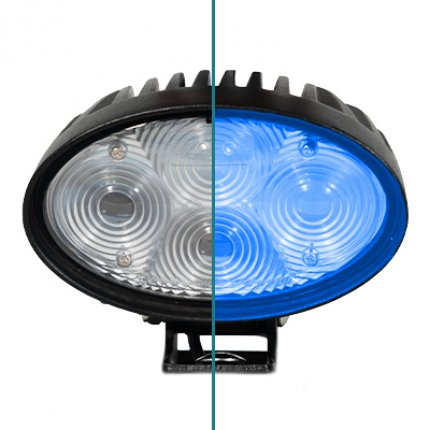 Blue Safety Spotlight for Scrubber Dryers and Sweepers