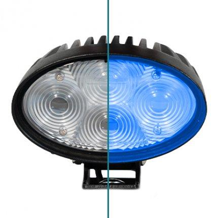 Eurekas Bodenreinigungsmaschinen sind jetzt sicherer als je zuvor, dank des neuen Blue Safety Spotlights.