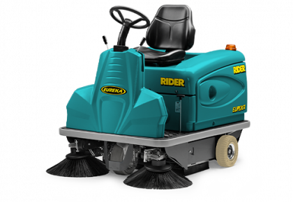 QUALITY WITHOUT COMPROMISES RIDER 1201 RIDE-ON SWEEPER