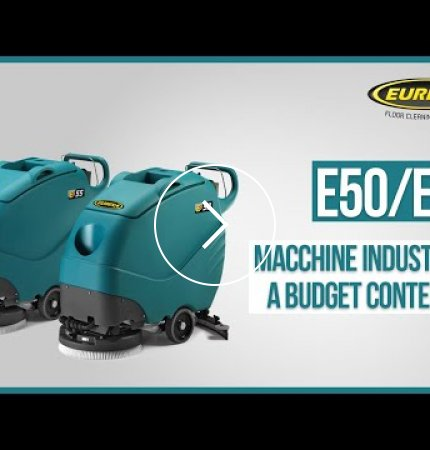 E50 lavasciuga pavimenti professionale eureka - Lavasciuga piccole dimensioni ...
