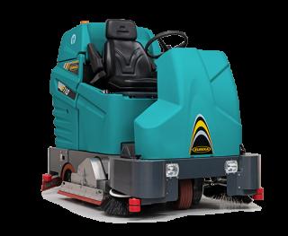 Eureka E110-R | The combi sweeper-scrubber from Eureka